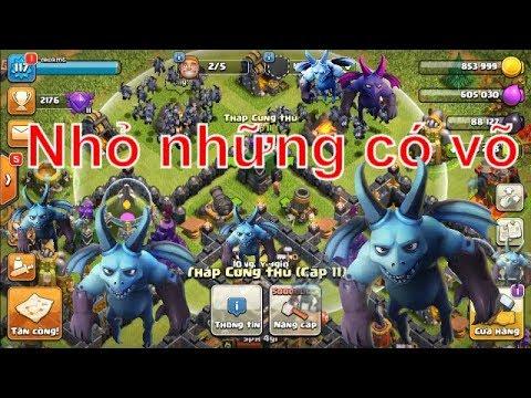 NMT | Clash of clans | Minion lv5 Mong manh nhưng không yếu