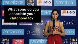 Gorgeous Shanvi Srivastava Reveals Her Childhood Song   Rapid Fire  