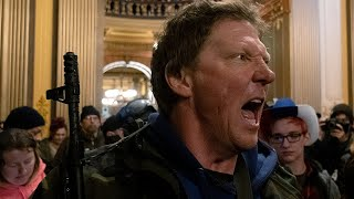 Anti-shutdown protesters storm Capitol building in Michigan demanding lockdown lifted | Covid-19