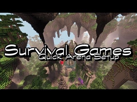 Survival Games   Bukkit Server Plugin   HungerGames   German   HD
