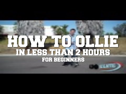 How to Ollie in Less Than 2 Hours For Beginners