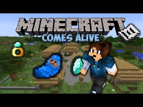 Get Married! | Minecraft Comes Alive | Minecraft Mod Showcase #14
