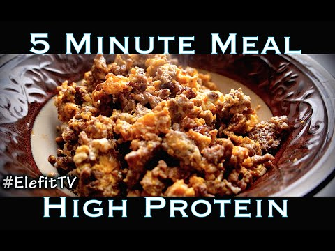 Food is Life #30 Ground Beef & Eggs! High Protein, Low Carb!