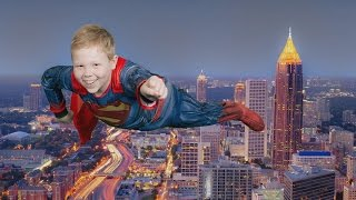 12-Year-Old Boy With Leukemia Gets Wish to Fly Like a Superhero