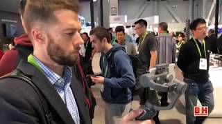 CES 2018 - DJI Shows Off Osmo Mobile 2 and Ronin S Stabilizers