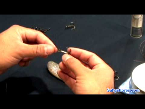 How to tie a kingfish rig, easy no crimpers needed a saltyshores how to series