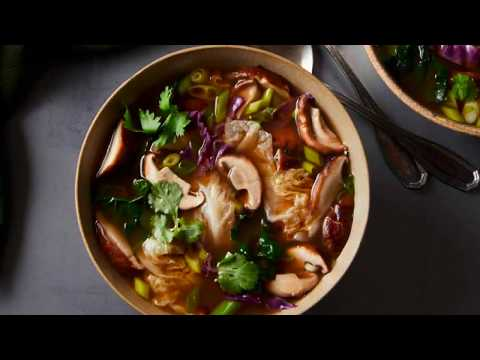 The Healing Slow Cooker - Shiitake Green Tea Soup Slow Cooker Recipe