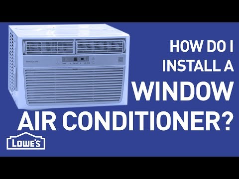 How Do I Install a Window A/C Unit? | DIY Basics