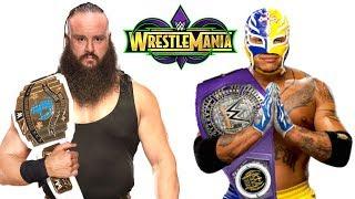 10 Leaked Rumors WWE WrestleMania 34