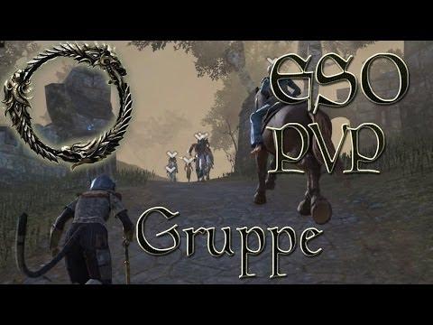 The Elder Scrolls Online - PVP (random) Gruppe [TESO Beta German Gameplay]