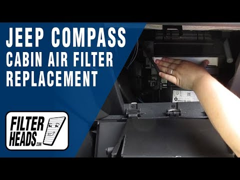 How to Replace Cabin Air Filter Jeep Compass