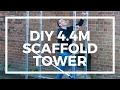DIY Aluminium Scaffold Tower Base Unit