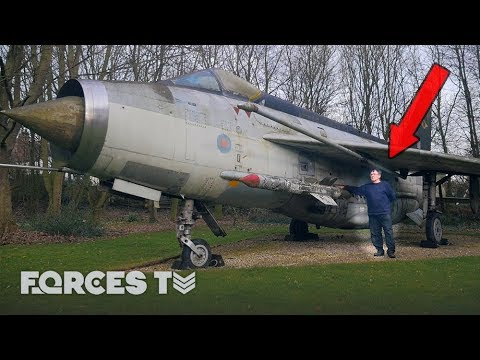 He Has A Lightning Fighter Jet In His GARDEN!? | Forces TV