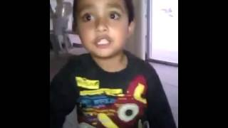 The Little Kid Afraid Of Injection (Funny Video)