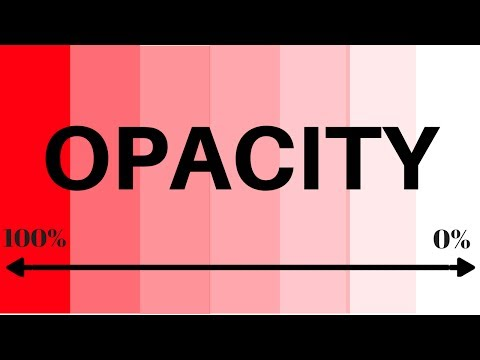 How to use Transparency | Change Opacity in illustrator Tutorial For beginners