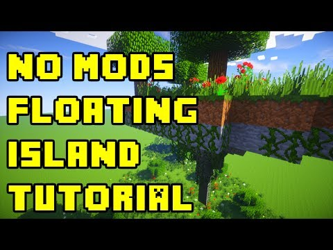 Minecraft: Floating Island How To Build Tutorial (Survival, No Mods!) Xbox/PS3/PE/PC