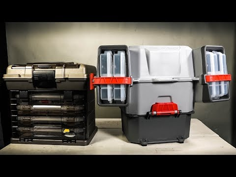 Plano V Crate Tackle Box and Bait Storage Dimensions Features