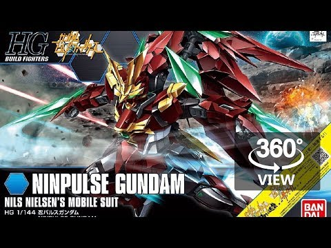 [360°Degree] HG 1/144 Ninpulse Gundam