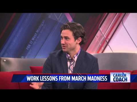 Career Coach on Fox 17 - Lesson from March Madness