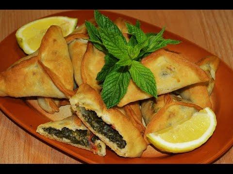 Spinach Fatayer Recipe/Ramadan Recipes - Make It Easy Recipes