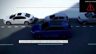 Audi Q7 2016 Audi Pre Sense city