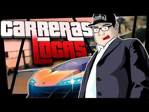 GTA V Carreras Locas | Big Wallride Crazy