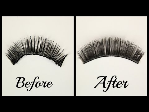 False Eyelashes | How To: Clean, Store, and Reuse