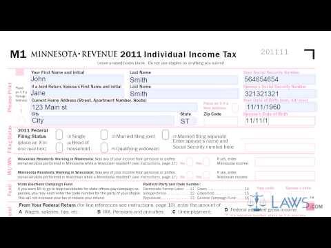 Form M1 Individual Income Tax Printable