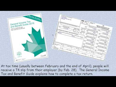 Information for Filing Income Taxes