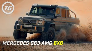 Mercedes G63 AMG 6x6 Review - Top Gear - Series 21 - BBC