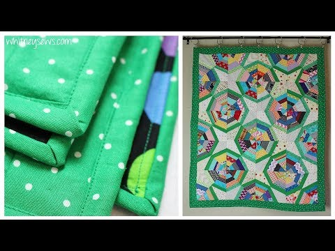 Quilt Binding How to - Quilting Quicky | Whitney Sews