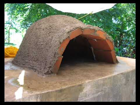 pizza oven clay and cement a great diy project