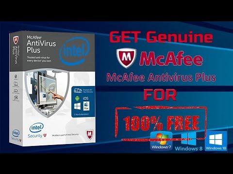 McAfee antivirus plus for free