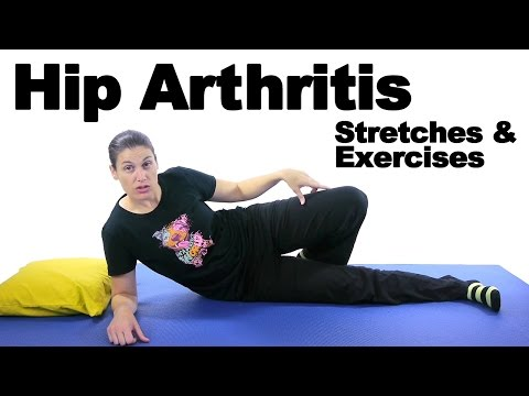 Hip Arthritis Stretches & Exercises - Ask Doctor Jo