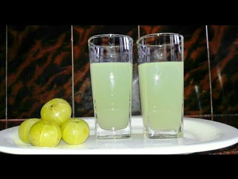 Nellikkai Juice | நெல்லிக்காய் ஜூஸ் / GooseBerry Juice in tamil /Amla Juice