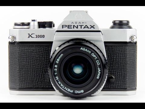 How to Use a Pentax K-1000 SLR Film Camera