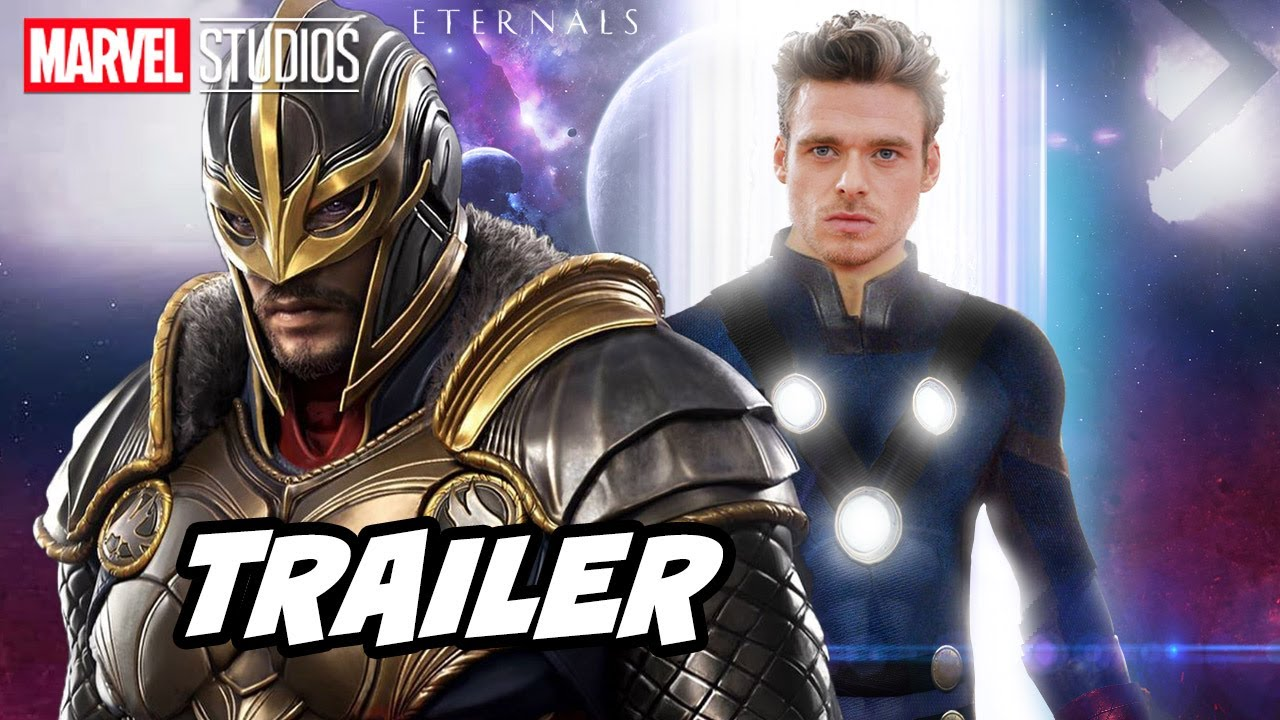 Eternals Trailer 2021 - Marvel Phase 4 Movies Trailer Breakdown and Easter Eggs