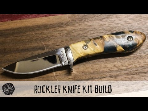 How To Build A Rockler Knife Kit & Giveaway