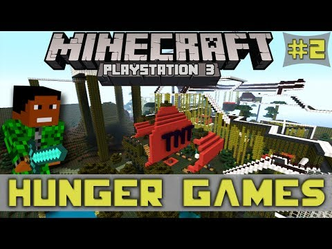 Minecraft PS3: TNT Hunger Games! | LOTS OF TNT! [Playstation 3]