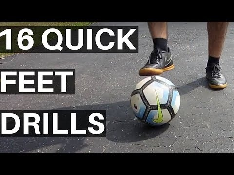 How To Get Good Footwork For Soccer - 16 Quick Feet Drills