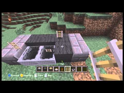 Minecraft Xbox 360 Edition: AWESOME WORKING COUCH!!!