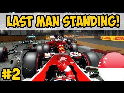 F1 2014: Last Man Standing Challenge - Singapore Stress!