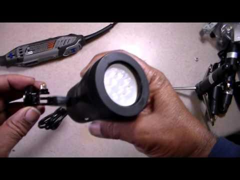 LimoStudio Lighting $20-$30: DIY Tripod Modding an Inexpensive Tabletop  Lighting System