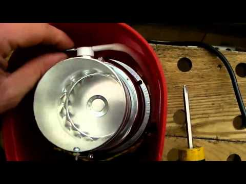 Modify popcorn popper for coffee roasting
