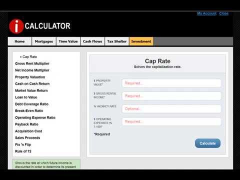 How to Easily Calculate Cap Rate - iCalculator