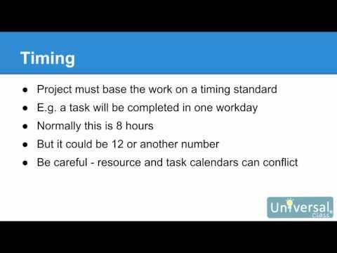 Lesson 6: Calendars - Microsoft Project 2016 Course
