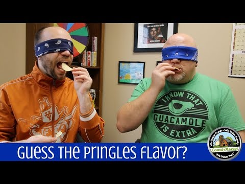 Guess the Pringles Flavor? Blind Taste Test Game