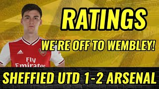 Sheffield United 1-2 Arsenal | Players Ratings| TIERNEY WAS SUPERB TODAY| #EmiratesFACup