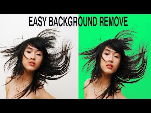 How to Cut Out Hair in Photoshop With Mask ~ Photoshop CC 2017