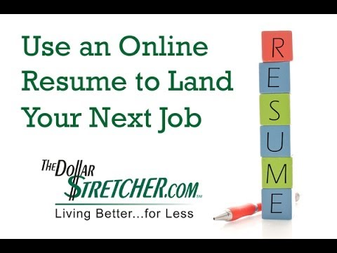 Improve Your Chances of Finding a Job with an Online Resume | The Dollar Stretcher